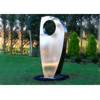 Buy cheap Contemporary Metal Yard Art Stainless Steel Sculpture For Garden Decoration from Wholesalers