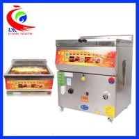 Buy cheap Commercial Stainless Steel Countertop Gas Fryer Single Tank Without Baskets from Wholesalers