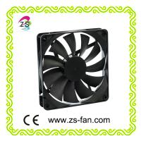 Buy cheap 140mm 12 Volt DC Brushless Fan , 140x140x25mm Plastic Power Supply Cooling fan from Wholesalers