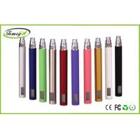 China green purple LCD E Cigarette Rechargeable Batteries For Ego Clearomizers , 14mm * 129mm factory