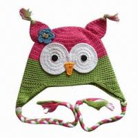 China Animal Knitted Hat for Children, OEM Orders are Welcome factory