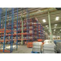 Buy cheap Vertical Radio Shuttle  Heavy Duty Pallet Racking System  Industrial  CE  SGS TUV from Wholesalers