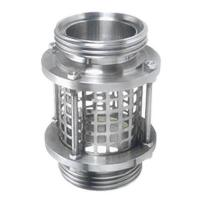 China Straight High Pressure Sight Glass Male Thread Connection Reducing Shaped factory