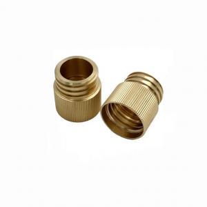 China Bronze Bushing CNC Precision Machining Parts Ra3.2 Electroplating factory