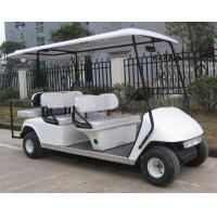 China gas golf cart 4+2seater factory