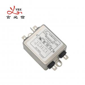 China 112V 250v 6A Two Stage AC Line Electronic Noise Filter For Dental Equipment factory