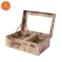 Buy cheap Ladies Jewelry Storage Box Glossy Lamination Finishing Attach Mirror from wholesalers