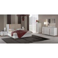 Buy cheap Scratch Resistant High Gloss Hotel Bedroom Furniture Sets , 6 Drawer Dresser from Wholesalers