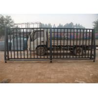 Buy cheap Low Carbon Steel Pipe Security Garrison Fence Panels Spear Top Steel Fence from Wholesalers