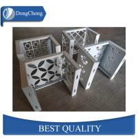 China Laser Cut Custom Aluminum Panels For Fence Decoration Perforated Alloy Wall Panel factory
