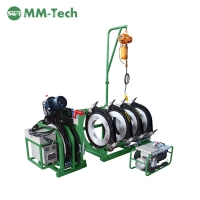 China 220v Industries hydraulic HDPE butt fusion Green welding machine 315 to 630mm factory