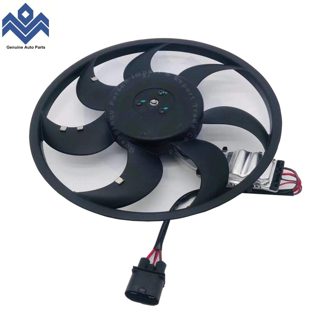Engine Radiator Cooling Fan Assembly Fits VW Touareg  Audi Q7 7L0959455G 995 624 136 01