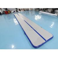 China PVC 6m Inflatable Gymnastics Mats Inflatable Air Track  Gymnastics Mat factory