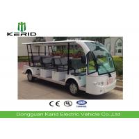 Outdoor 14 Passenger Electric Sightseeing Car with Superior Cruising Capacity