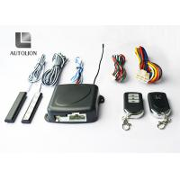 China Black Car Alarm Systems With Remote Start And Keyless Entry , Stop Car Engine Function factory