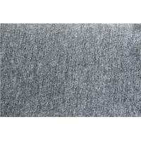 Buy cheap Silver Grey Wool Jacquard Fabric Blend For Mens Collection Ventilated from wholesalers