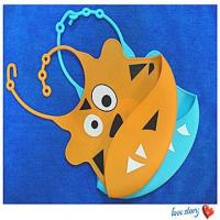 Buy cheap silicone infant apron ,cute adorable soft silicone baby bibs from Wholesalers