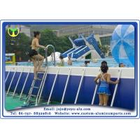 Buy cheap Creative Custom CNC Aluminum Parts Swimming Pool Barriers / Railing / Fence / Balustrader from Wholesalers