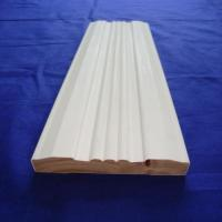 China Environmentally Friendly Interior Wood Trim , White Wood Door Casing on sale