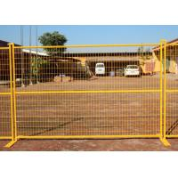 China Road Security Welded Wire Mesh Temporary Fence Panels 60X100mm 12FT Width on sale