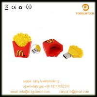 China wholesale Mcdonald French fries 1GB USB storage device on sale