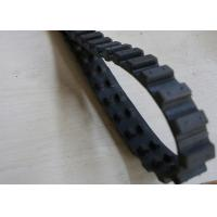 China High Tractive Force Robot Rubber Tracks Custimzed Size For Lawn Mover factory