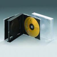 China 23mm PS CD Case, Suitable for Holding Four or Six CDs on sale