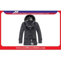 China Slim Fit Winter Mid-long Men Trench Coat Breathable and Plus Size Man Outerwear factory