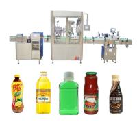 China Pneumatic Driven Juice Filling Machine / 304SS Beverage Syrup Filling Machine factory