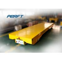 Buy cheap Low Voltage Rail Transfer Cart For Workshop Cargo Delivery , Table Size Customized from Wholesalers