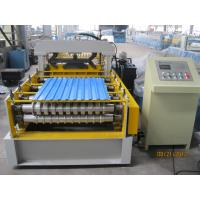 Buy cheap 914mm Width Pre Painted Steel Coil Cold Roll Forming Machine / Roll Forming Line from Wholesalers