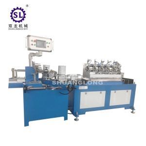 China Safty Multi Cutters Drinking Paper Straw Making Machine Per Minute 200 Pcs factory