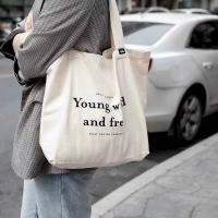 China Shoulder Carrying Cotton 30cm Canvas Tote Bags For Daily factory