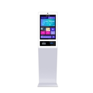 "China RK3288 22"" 300cd/m2 1366x768 Self Service Ordering Kiosk factory"