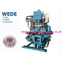 China Pressure Rotor Vertical Die Casting Machine For Rotor 4 Rotary Stations Cycle Time 8 Seconds factory