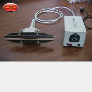 China Hand Held Impulse Sealer FKR T Clamp Style Hand Impulse Sealer Clamp Plastic Heat Sealer factory