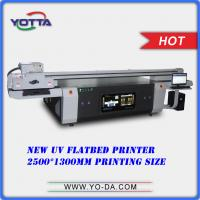 China digital poster printing machine uv flatbed printing machine factory