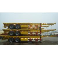 China Container trailer tires skeletal Trailer in truck trailer - CIMC VEHICLE on sale