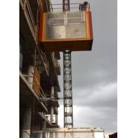 Buy cheap 3 Doors Material Hoist Construction , SC200/200 Material Lift Elevator from Wholesalers