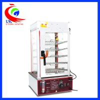 China Luxury vertical stainless steel bun steamer cabinet with 5 layers factory