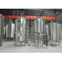 China SUS 304 Cider Brewing Equipment , New Condition Cider Production Equipment factory