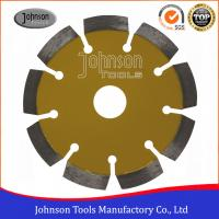 Buy cheap 115mm Laser Welded Diamond Blades For Cutting Stone / Concrete Block / Brick from Wholesalers