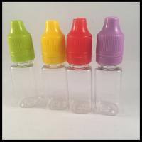 Buy cheap Square Plastic Squeezable Dropper Bottles Excellent Low Temperature Performance from Wholesalers