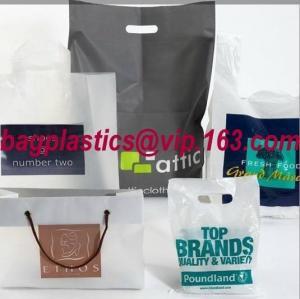 China Shopping bag, shopper, flexi loop handle, die cut handle, block bottom, string bag, handy factory