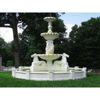 Buy cheap Large Stone Fountain With Horse Statues from Wholesalers