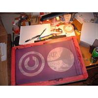 Buy cheap flower silk screen printing from Wholesalers