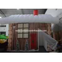 Quality Inflatable Christmas Decoration House Inflatable Tent House / Snow House for sale