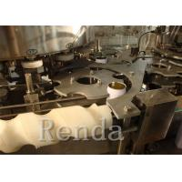 Buy cheap Fully Automatic Carbonated Drink Filling Machine Beverage Bottling Equipment SUS304 from Wholesalers