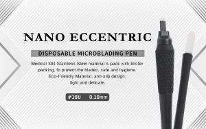 China Nano Eccentric Disposable Microblading Pen Ombre Tattoo Eyebrow factory