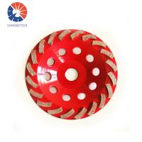 Buy cheap 7 Inch 180mm Diamond wet metal abrasive cup disc grinding wheel for granite marble concrete from Wholesalers